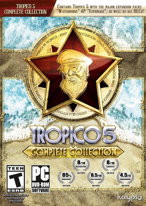 Max 44% OFF Tropico 5 Max 75% OFF Complete - Collection PC