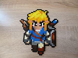 Sprite Link - The Legend of Zelda : Breath of the wild/BOTW - Hama Beads • Pixel Art • Perler bead