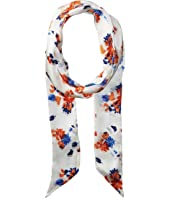 Vince Camuto - Painted Ditsy Floral Skinny Scarf