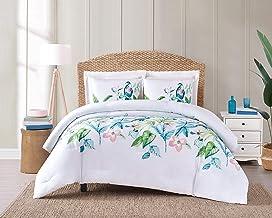 Oceanfront Resort Tropical Bungalow Comforter Set, Pink