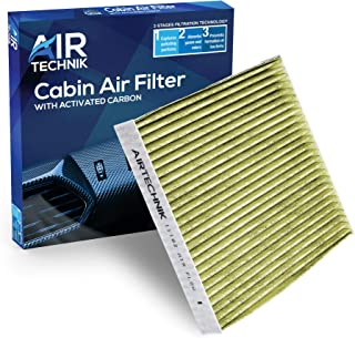 AirTechnik CF11182 PM2.5 Cabin Air Filter w/Activated Carbon   Fits Acura RDX 19-20/Honda Civic 16-20, CR-V 17-20, CR-Z 1...