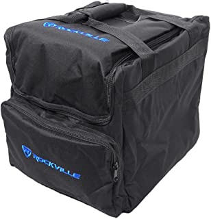 Rockville Padded Travel Bag for (2) Chauvet or American DJ Effect Lights (RLB40)