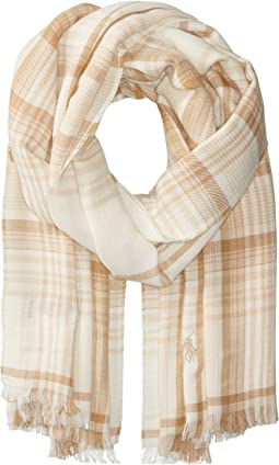 Polo Ralph Lauren - Lightweight Fall Flannels Scarf