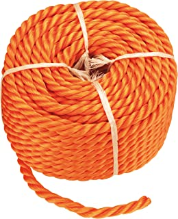 Connex B34083 Universalseil, 8 mm, 20 m, orange