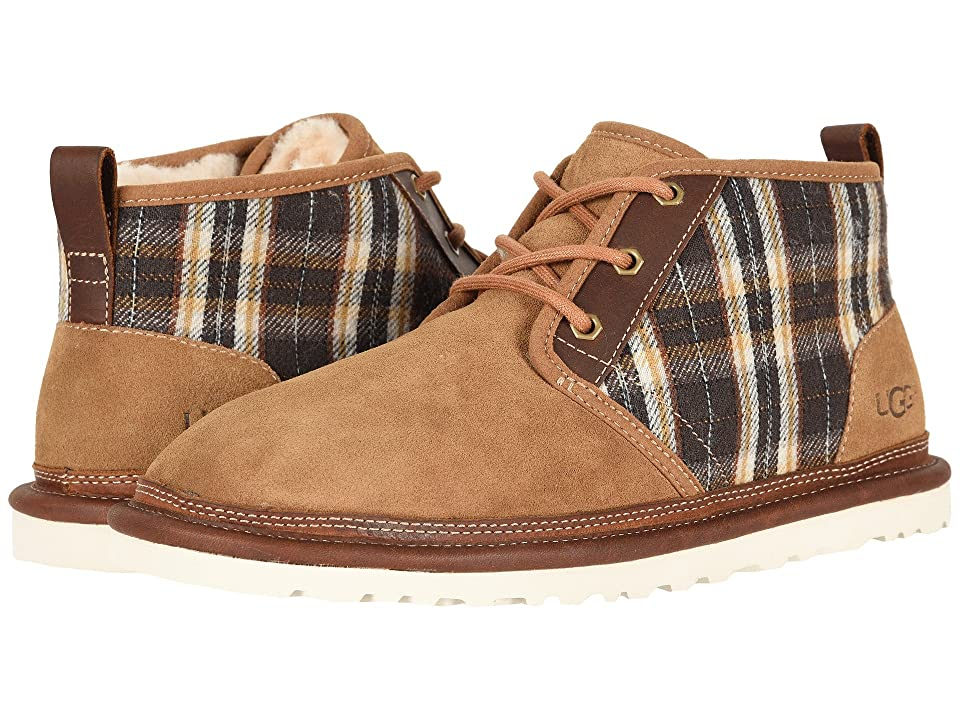 UGG Neumel Plaid (Chestnut) Men