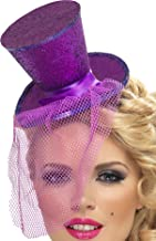 Smiffys Fever Women's Mini Top Hat on Headband