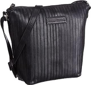 Bruno Banani Messenger Bag, Stripes_1, black - Schwarz (schwarz)