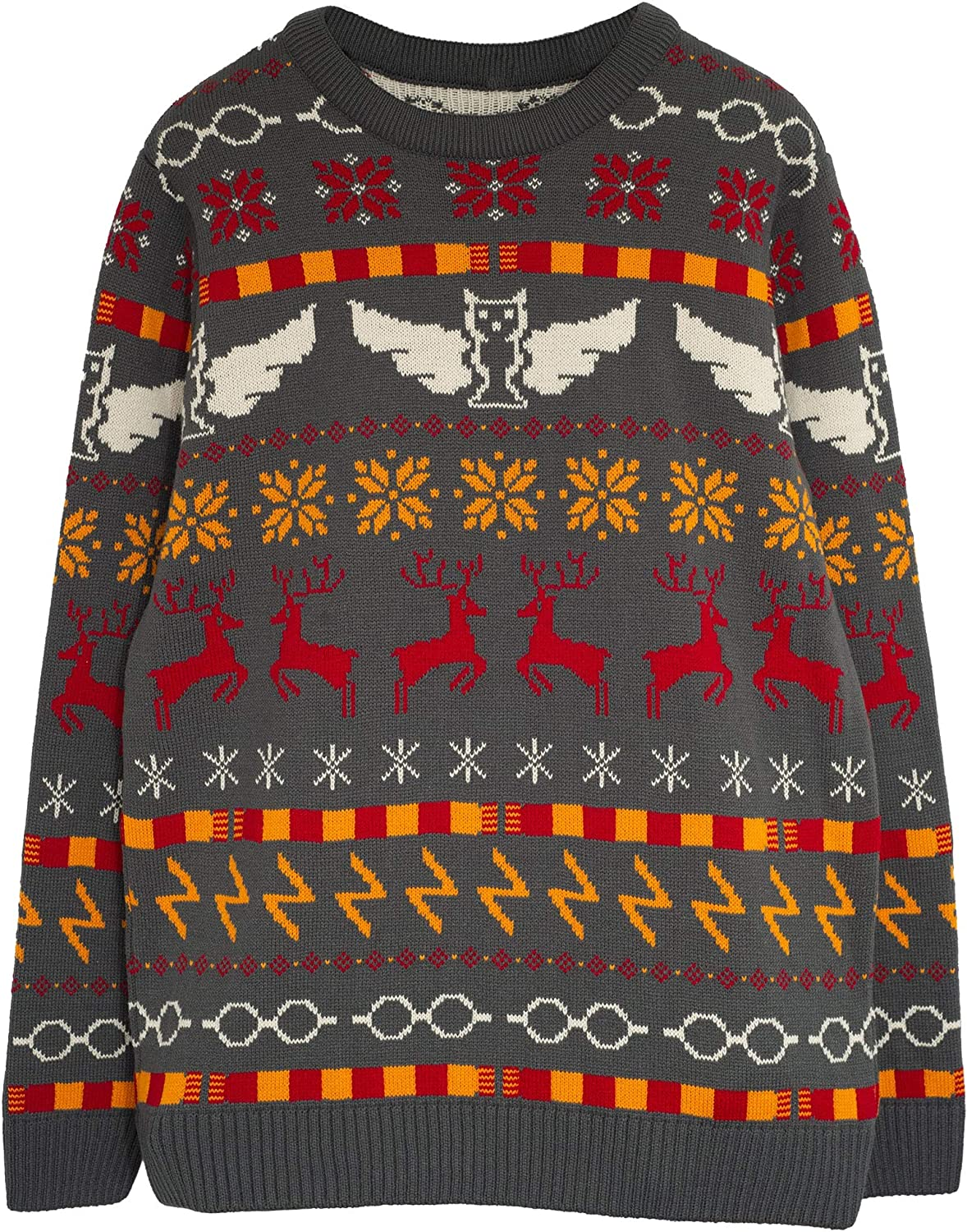 Ugly Sweater Gift Idea Marvel Comics Hero Icons Boys Knitted Jumper Official Merchandise