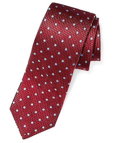 20cf0bffbce7 Burgundy Tie: Amazon.com