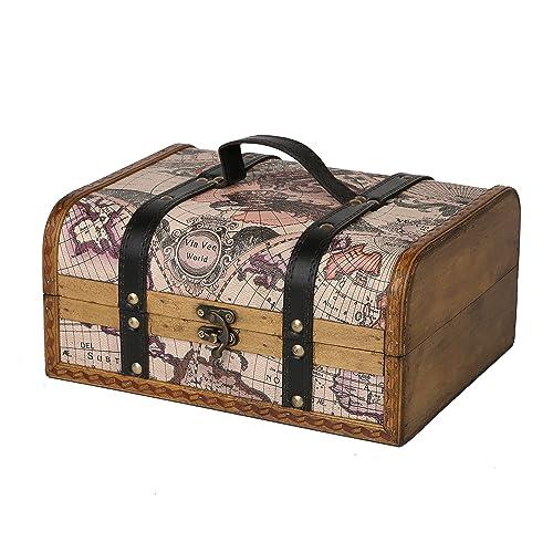 Vintage Wooden Boxes Amazon Com