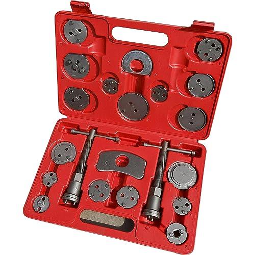 Cartman 21pc Professional Disc Brake Caliper Wind Back Tool Kit