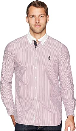 Lightweight Oxford Striped Sport Shirt