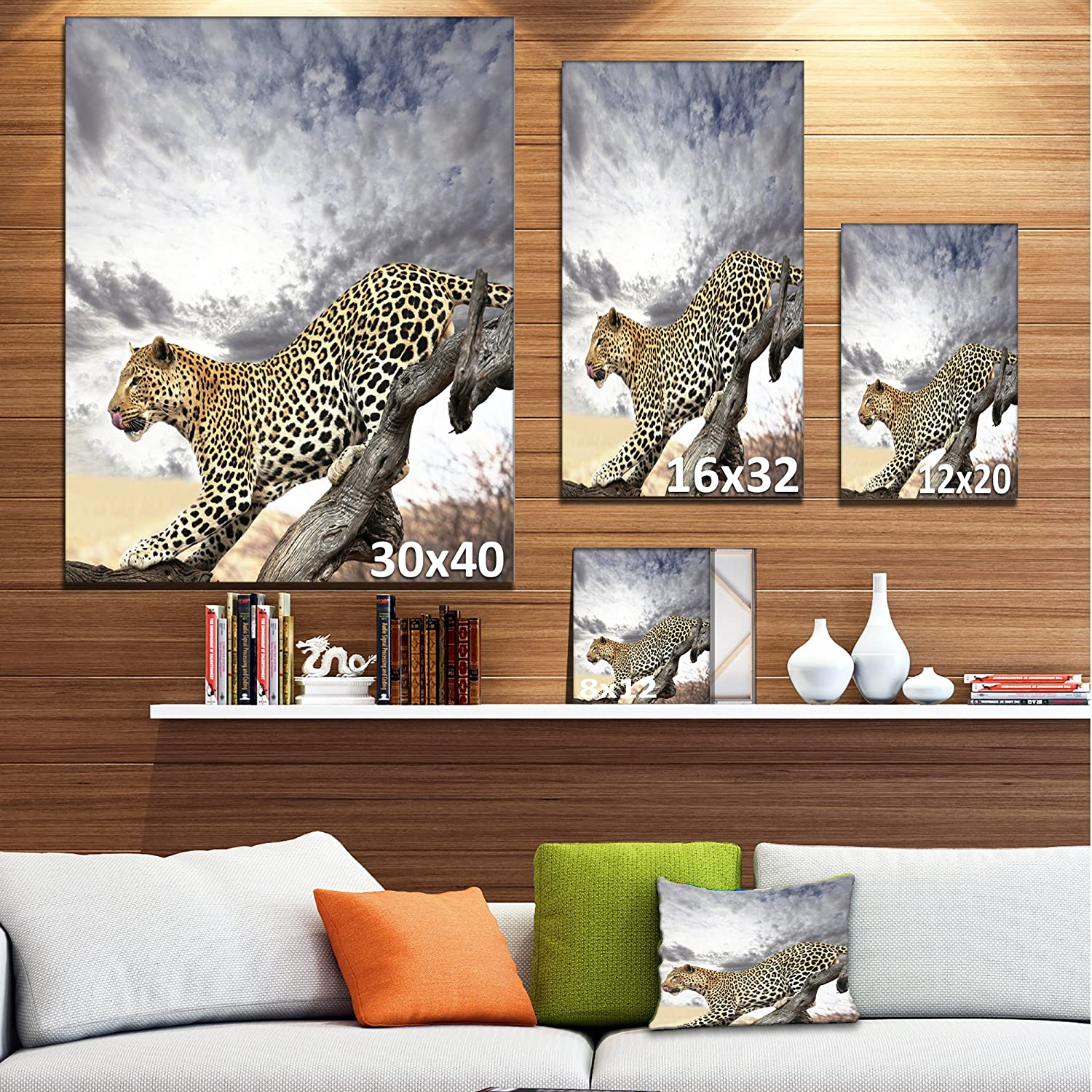 Leather 12x12 Abstract AUTUMN PASTELS on LEOPARD on White Soft Cowhide 3.25-3.5oz1.3-1.5mm PeggySueAlso\u2122 E2550-25