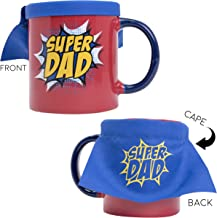 Blue Sky Studios BS144950D Super Dad with Cape Coffee or Tea Mug, Red