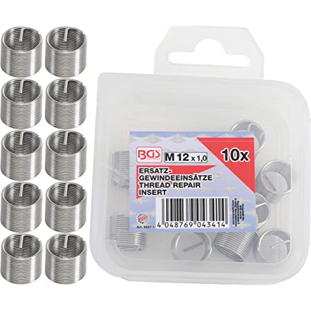 M11 x 1,5 mm BGS 9436-1 Inserts taraud/és 10 pi/èces