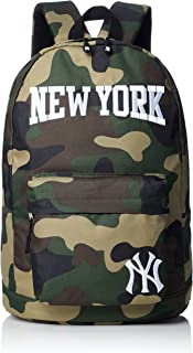 MLB 纽约 洋基队 宽幅刺绣 背包 背包 帆布包 女士 男士 上学 远足 旅行 高中生 中学生