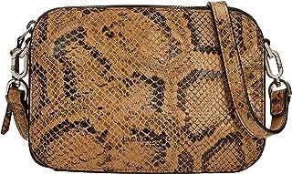 Liebeskind Berlin Luka Crossbody Snake, Borsa a Cartella Donna, Small (HxBxT 14.5 cm x 20.5 cm x 7.0cm)