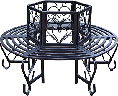 828671848bea8 Amazon.com   Eichholtz Blue Velvet Bench Tahoe   Garden   Outdoor