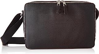 Lacoste NH3270 Reporter - Bolso para hombre, color negro, talla única