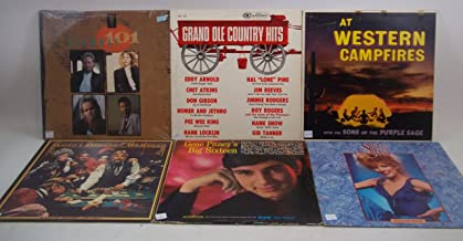 Classic Country Music Lot of 6 Vinyl Record Albums Highway 101 and more