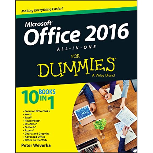 Office 2016 All-in-One For Dummies