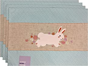 Celebrate Easter Together Bunny Band Rabbit Placemats - Set of 4
