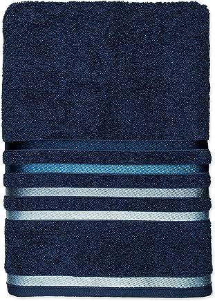 Toalha de Rosto Lumina 331/1 98% Algodão 2% Polyester Karsten Azul Marinho Algodão/Poliester
