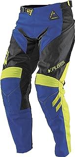 MSR Xplorer Ascent Pants - 34 Waist/Black/Blue/Hi-Viz Yellow