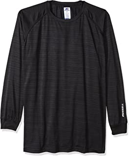 Russell Athletic Men's Big and Tall Ls Dri-Power Pieced Under Arm W/Lc r