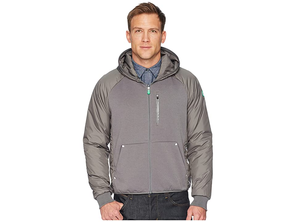 Save the Duck Recycled Hooded Jacket (Mid Grey) Men