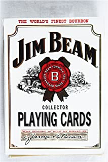 Vintage Jim Beam Bourbon Poker Size Playing Cards