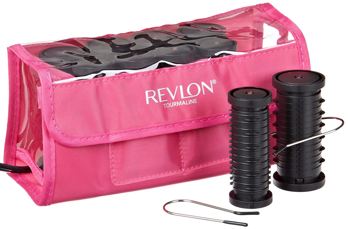 Revlon Curls-to-Go 10 Piece Travel Hot Rollers engfzgyvidp543