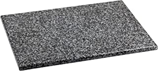 "Home Basics CB01881 Granite Cutting Board, 12"" x 16"", Gray"