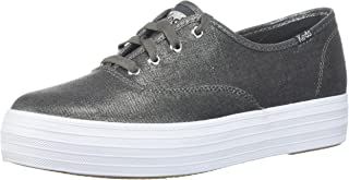 Women's Triple Metallic Linen Sneaker