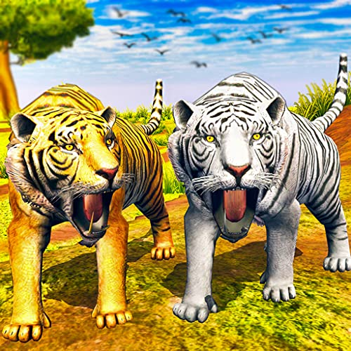 Virtual Tiger Family Simulator: Wildtiger-Spiele
