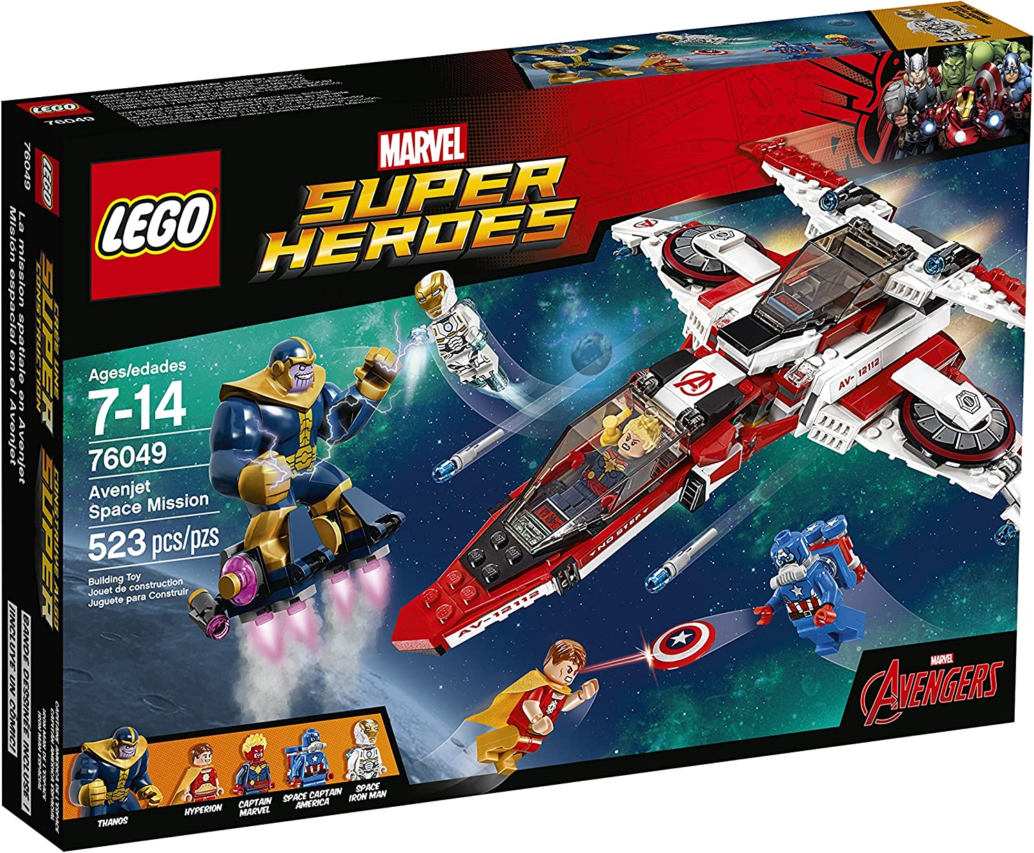 LEGO Super Heroes Avenjet Space Mission 76049 by LEGO