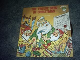 THE Twelve Days of Christmas 45 Rpm Record