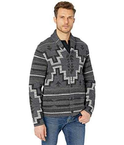 Lucky Brand Legacy Shawl Collar Cardigan Sweater (Multi) Men