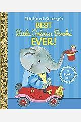 Richard Scarry's Best Little Golden Books Ever! (Little Golden Book Favorites) Hardcover