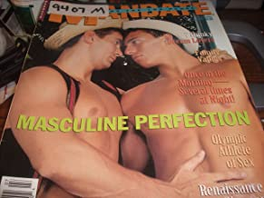 Mandate Adult Men's Gay Magazine July 1994 Masculine Perfection