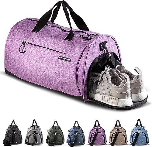 Fitgriff® Sporttasche für Damen und Herren - mit Schuhfach & Nassfach - Tasche für Sport & Fitness - Gym Bag, Trainin...