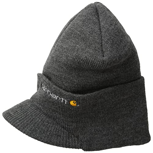 Carhartt Men s Knit Hat With Visor 82ee896ed96