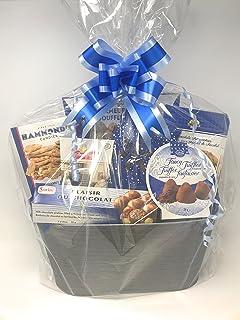 Life Solutions Products LSP – 12 bolsas grandes de celofán para cesta de regalo – para embalaje de regalo y fabricación de cestas – 24 pulgadas x 30 pulgadas de alto – incluye 12 lazos grandes
