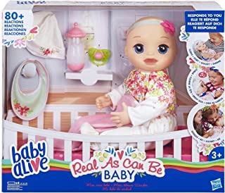 """Baby Alive E2352ES0 """"Real As Can Be"""" Docka, Blonde"""