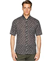 Eton - Slim Fit Polka Dot Banana Shirt