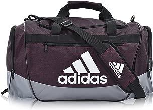 black and grey adidas bag