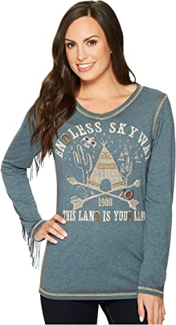 Double D Ranchwear - Endless Skyway Tee
