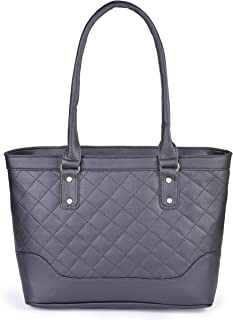 Aisna Women's Winset Handbag (ASN-171)(Black)