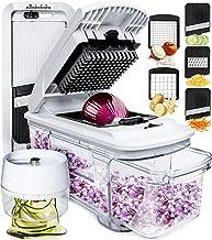 fullstar - Cortador de mandolina, cortador de verduras, cortador de verduras, picador de cebolla, picador de alimentos, es...