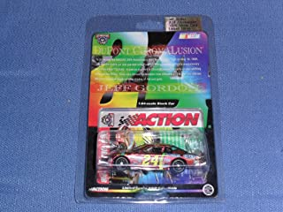 1998 NASCAR Action Racing Collectibles . . . Jeff Gordon #24 Chromalusion Chevy Monte Carlo 1/64 Diecast . . . Limited Edition
